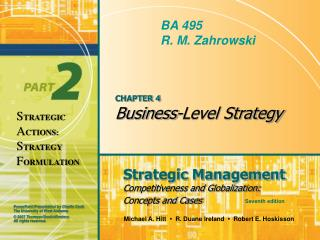 CHAPTER 4 Business-Level Strategy