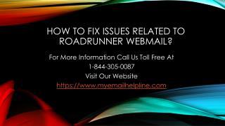 Roadrunner Email Setup