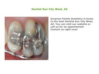 Dental Implants in Sun City West, AZ