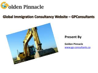 Global Immigration Consultancy Website – GPConsultants