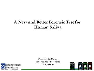 Karl Reich, Ph.D. Independent Forensics  Hillside IL