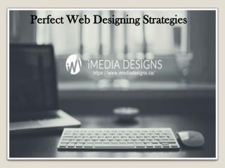 Perfect Web Designing Strategies