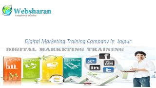 Digital Marketing Training Company In Jaipur