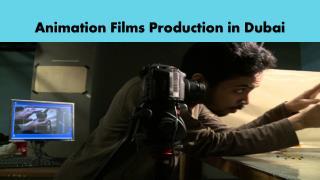 Animation Films Production in Dubai