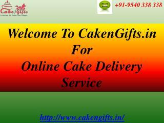 CakenGifts.in | Same Day Cake Delivery in Delhi