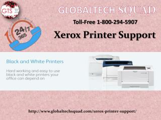 Support for Xerox Printer at GlobalTech Squad | 1-800-294-5907