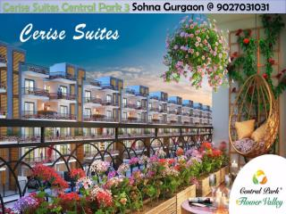 Cerise Suites Central Park 3  Sohna Gurgaon @ 9027031031