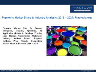 PPT for Pigments Market Update 2017