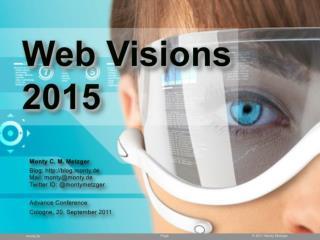 Web Visions 2015
