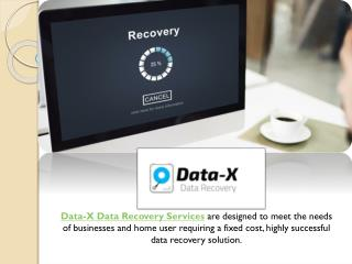 Data-X Data Recovery Services