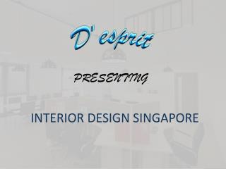 Beautiful Interior Designs Singapore | D'esprit Interiors