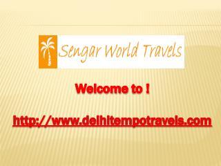Luxury Tempo Traveller Hire in Delhi