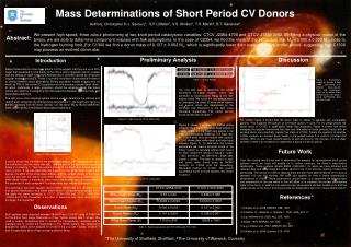 Mass Determinations of Short Period CV Donors