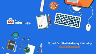Online Certified Marketing Internship