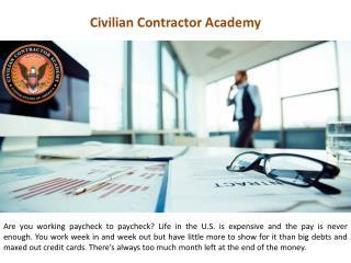 Civilian Contractor Academy