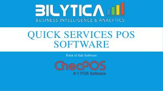 Features of Quick Services POS Software