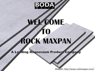 Rockmaxpan Cement Board