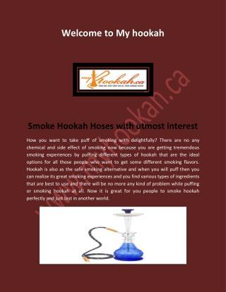 Hookah Accessories, Glass Hookah