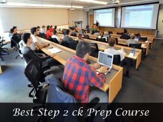 Best Step 2 ck Prep Course
