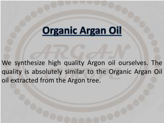 Organic Argan Oil - arganeurope.com