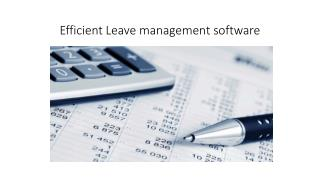 Manage leave schedule with leave management software|PeopleQlik