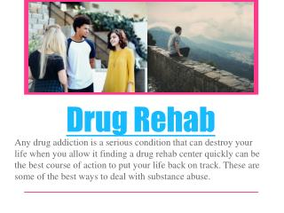 Addiction Rehab Options