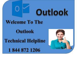 Outlook Customer Service 1 844 872 1206 Outlook Help Desk Phone Number
