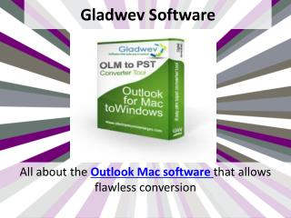 OLM to PST Outlook Free Download