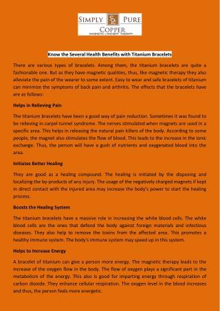 Buy Titanium Link Bracelets|Bracelets Online Store USA
