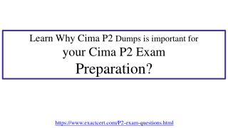 How to pass Cima P2 Exam in first attempt?