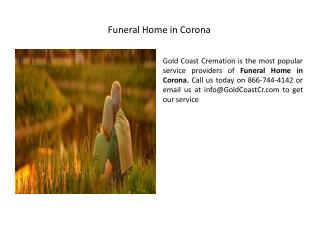 Corona Cremation