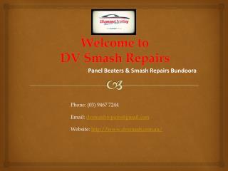 DIAMOND VALLEY SMASH REPAIRS Bundoora Victoria
