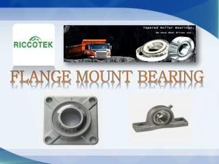 Know All About Flange Mount Bearing