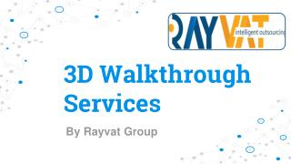 Architectural Walkthrough Services - 3D Animation Walkthrough