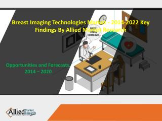 Breast Imaging Technologies Market - 2014-2022 Key findings by Allied Market Research