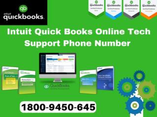 intuit quickbooks tech support phone number