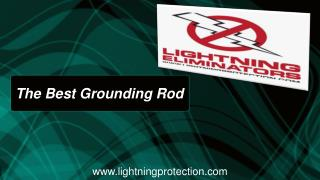 Best Grounding Rod Giving Least Resistance