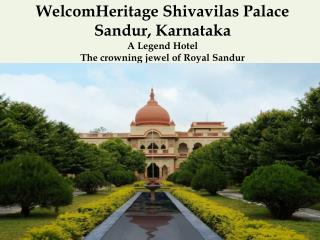 WelcomHeritage Shivavilas Palace