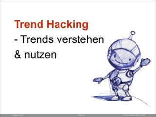 Trend Hacking: Trends Verstehen & Nutzen