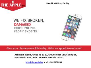iphone repair services in delhi - TheApple.Biz