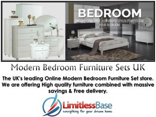 Modern Bedroom Furniture Sets in UK from Limitless Base