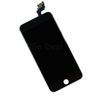 For Apple iPhone 6 Plus Digitizer and LCD Screen Assembly with Frame Replacement - Black