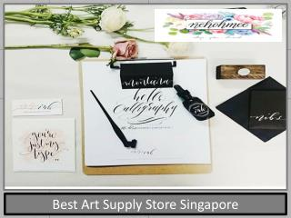 Best Art Supply Store Singapore