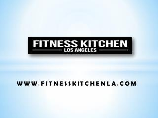 Healthy meal delivery Los Angeles