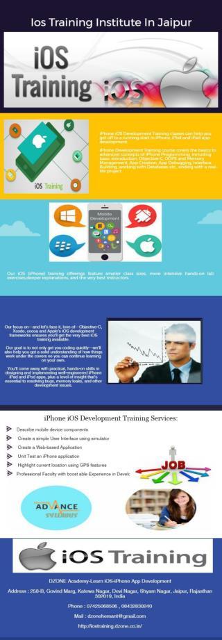 Ios Training Institute In Jaipur