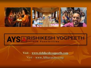 200 Hour Yoga Teacher Training in Rishikesh : Human Body