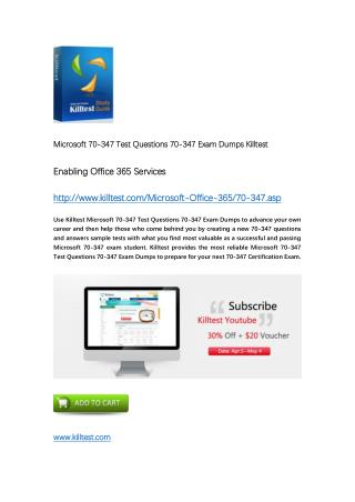 70-347 Microsoft Exam Dumps