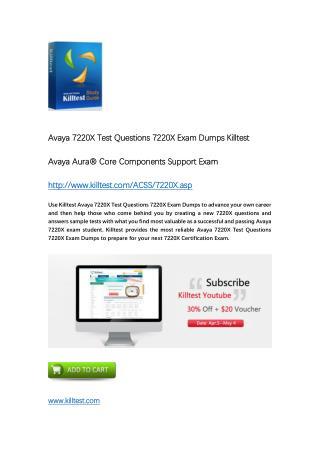 7220X Avaya Exam Dumps