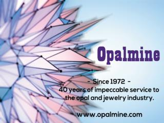 Unset or unfinished opals  | opalmine