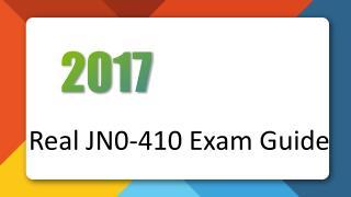 Killtest Juniper JN0-410 Real Exam Questions